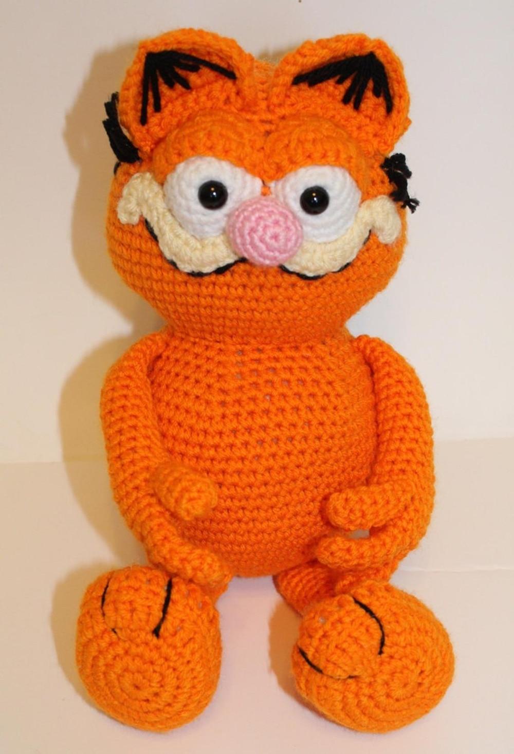 Crochet Toys  Amigurumi Cat  Model    Number  W491