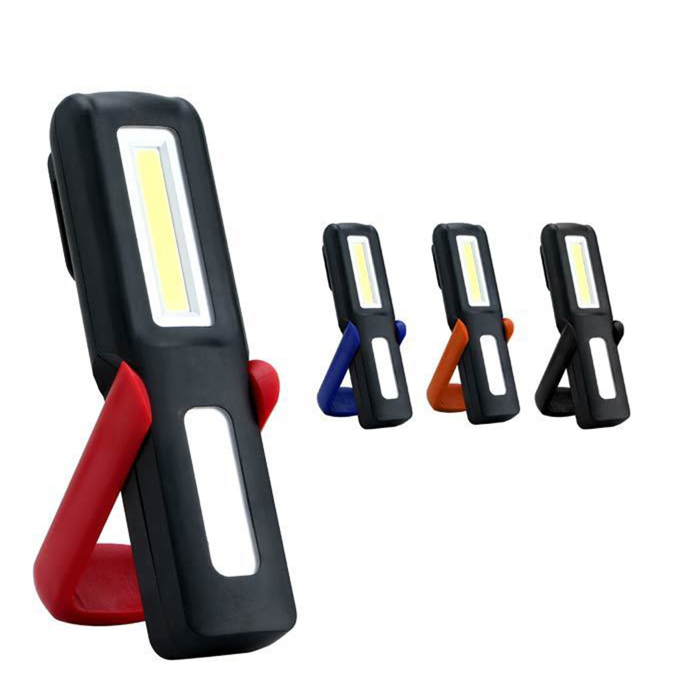 COB LED Work Light With Hook Magnet USB Rechargeable Inspection Lamp Magnetic Camping Tent Flashlight Torch CLH@8