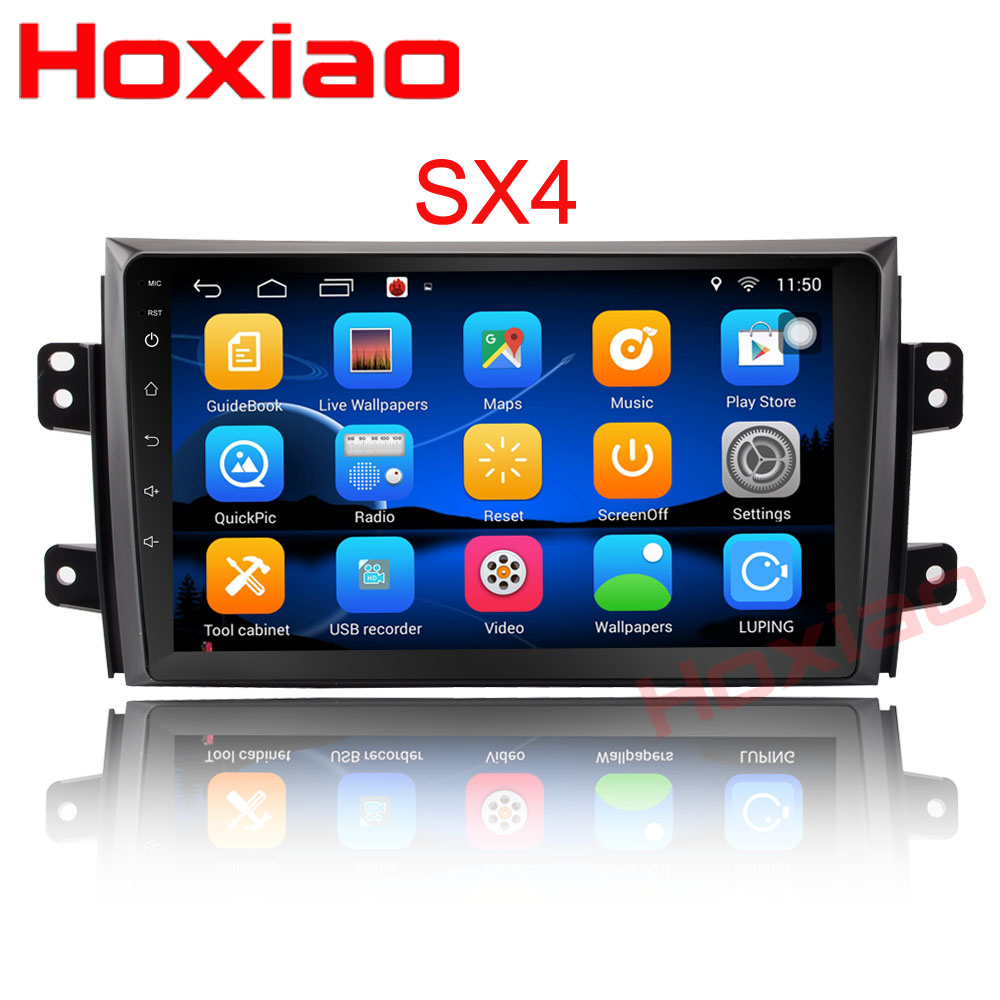 For Suzuki SX4 2006-2013 Quad Core 9″ 1024*600 Bluetooth 2din Car DVD Radio Player GPS Navigation 2 DIN Android player