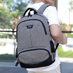 Image 1 - Fashion Backpack 2020 Men Backpack Student Charging Laptop Wear Backpack Resistant Pack SchoolBags For Teenage Boys Mochila