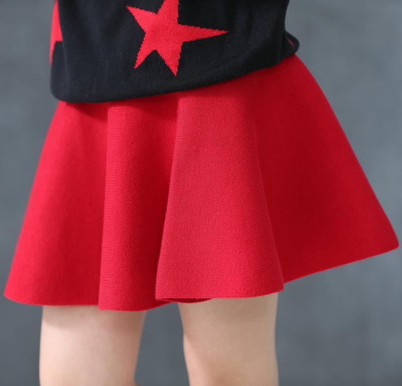 Красная юбка онлайн