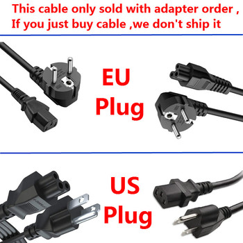 AC Power Cord with EU / US PLUG For Adapter Power Charger 3 7v 1500mah battery with battery charger eu plug power adapter set for htc desire z