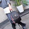 Новый дизайн холст лоскутные женщины рюкзак девушки мода досуг сумка старинные небольшой сумка