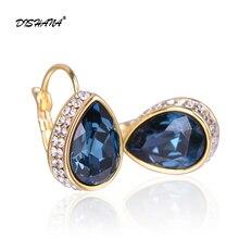 Bohemian jewelry for Women Drop Earrings Fashion Accessories Crystal Dangle Earrings Jewelry Women Gift oorbellen E0178