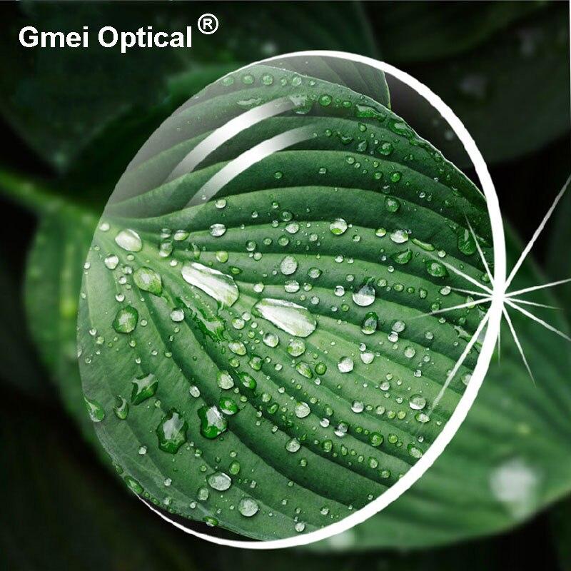 1.74 verres optiques ultra-minces à Vision unique avec Protection UV complète et revêtement anti-reflets 2 pièces - 2