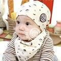 Newborn Baby Girl Boy Kids Bibs Cotton Hat Saliva Towel Triangle Head Scarf Set