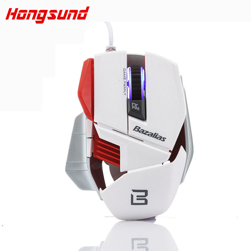 NEW Wired Gaming Mouse Mice 6 Buttons Optical Computer Mouse E-Sports USB Mouse For Computer Laptop Raton HS X1