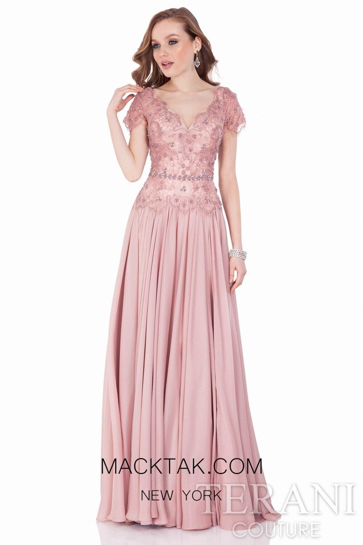 An evening dress untuk