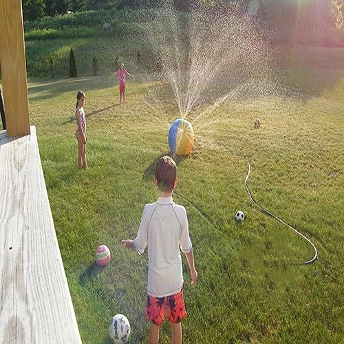 Childrens-Outdoor-Lawn-Swimming-Beach-Inflatable-Water-Fountain-Ball-2