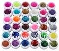 BEMLP 36 Colors Nail Gel Nail Art Glitter Uv Gel Polish Base and Top Coat for Lamp Decoration