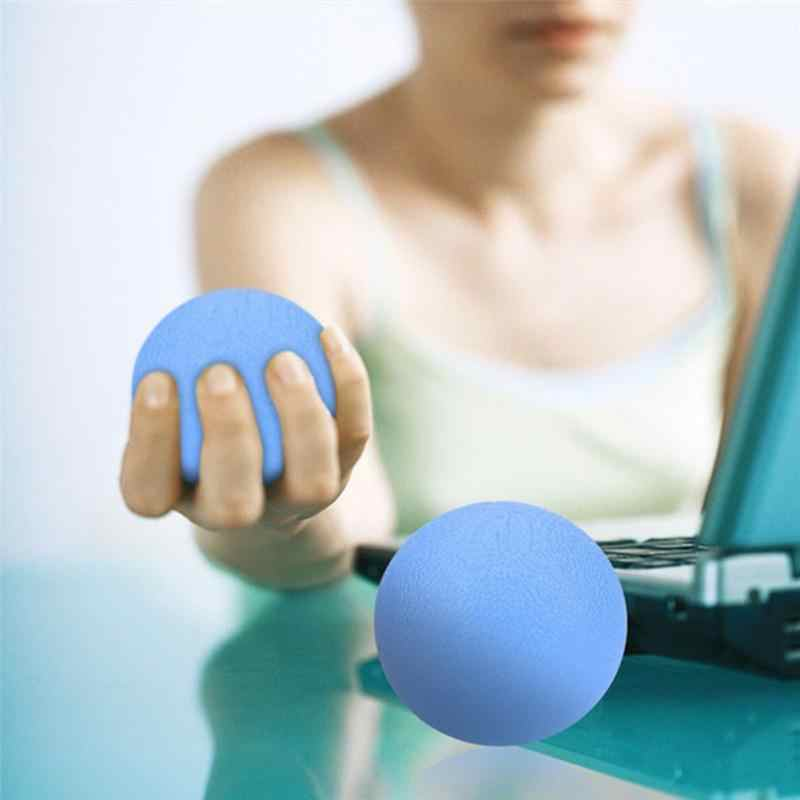 Stress Relief Squeeze Ball Hand Finger Grip Strength Exercise Massage Therapy