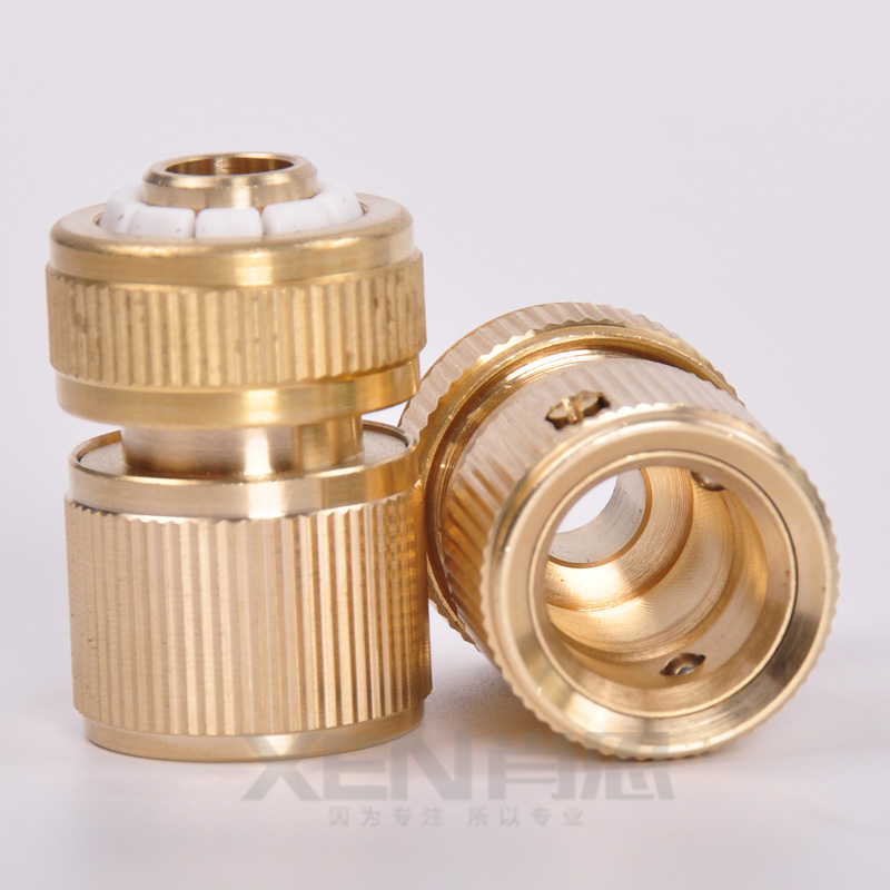 10pieces new hot copper tube snap adaptor fitting garden for Copper water pipe connectors