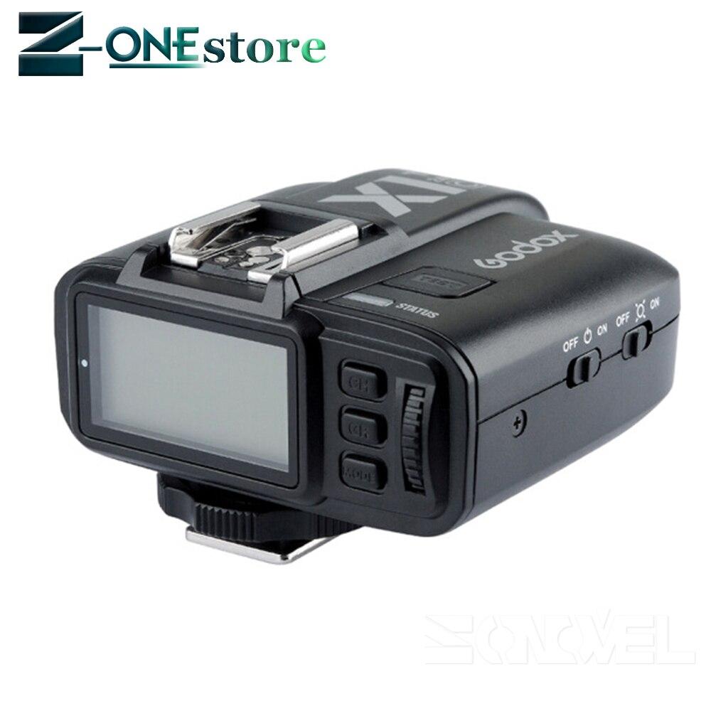 2 * GODOX TT350C 2.4G HSS GN36 TTL Mini flash Speedlite + transmetteur de X1T-C sans fil pour Canon EOS 800D 650D 600D 750D 77D M5 M3 - 5