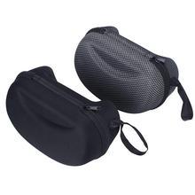 Goggle mesh zipper glasses hard ski box protector sport winter case