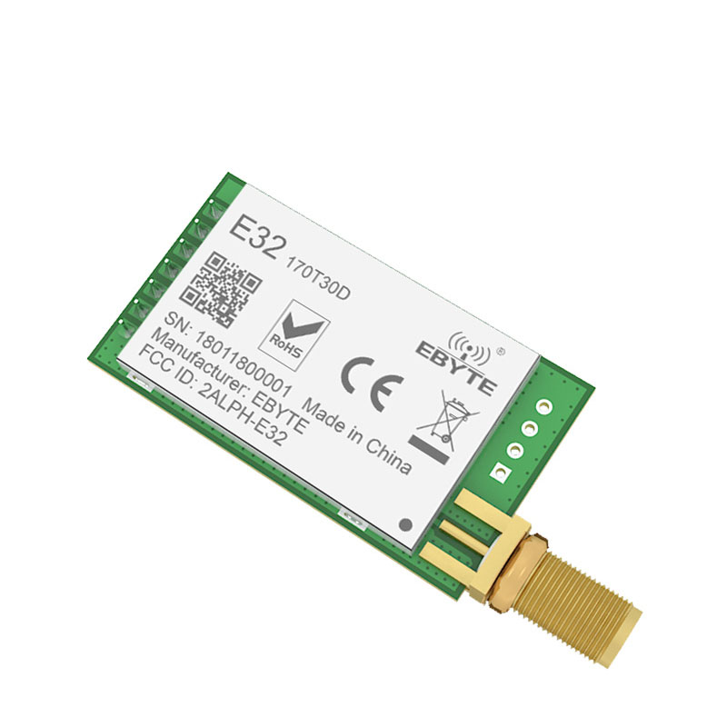 Image 2 - E32 170T30D LoRa SX1278 SX1276 170MHz rf Module 1W 170 MHz UART Wireless Transceiver Long Distance SMA k Antenna-in Fixed Wireless Terminals from Cellphones & Telecommunications