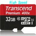 Orignal Реальная Емкость Высокая скорость Transcend карта micro sd 32 ГБ 16 ГБ MicroSD MicroSDHC SDHC Class10 UHS-I 400x карты памяти tf карты