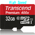 Orignal Real Capacity High speed Transcend Micro sd card 32GB 16GB MicroSD MicroSDHC SDHC Class10 UHS-I 400x memory card tf card
