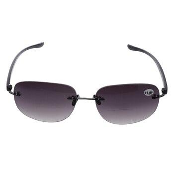 bfbd16d25f Gafas de sol de lectura Bifocal para pesca sin montura al aire libre  lectores + 1,0 a + 3,5