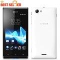 Xperia j abierto original sony xperia j st26i st26 teléfono móvil de doble cámara de android 3g wifi freeship