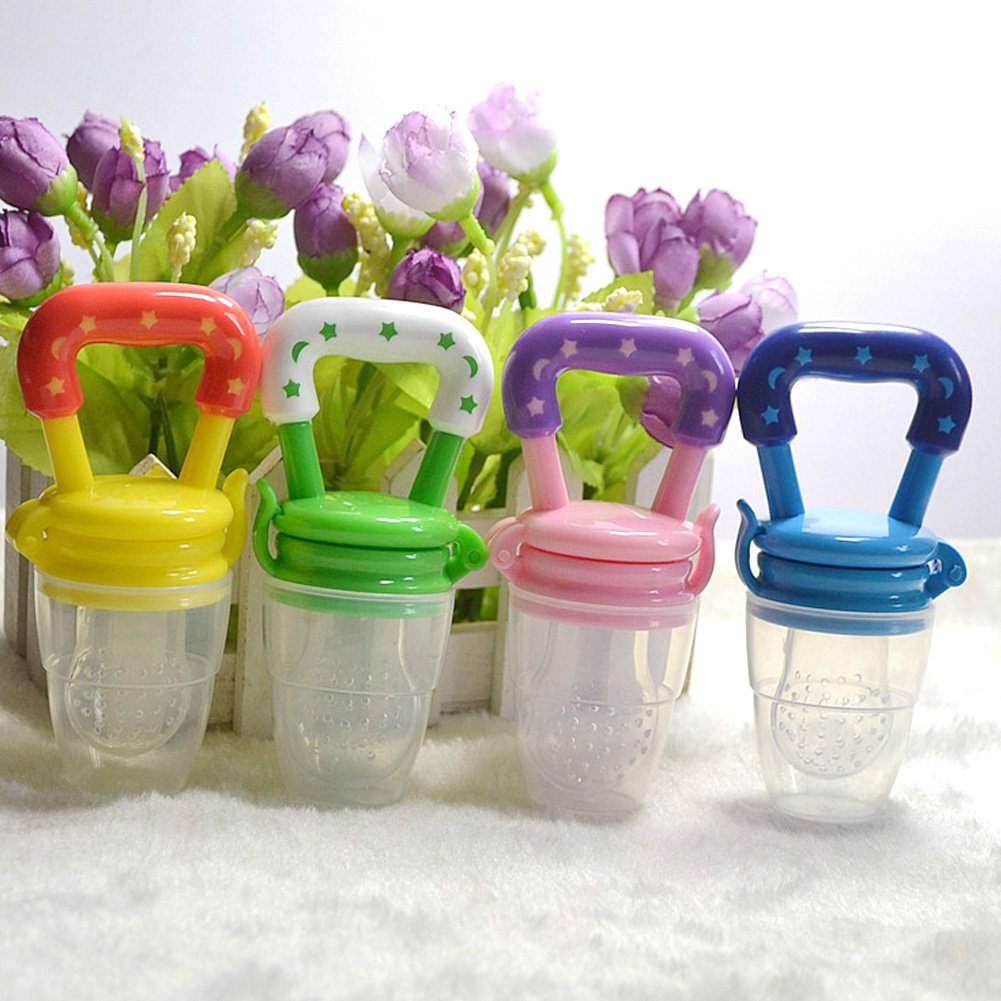 1PC Baby Bottle Pacifier Fresh Food Milk Nibbler Feeder Kids Safe Nipple Feeding Baby Supplies Pacifier