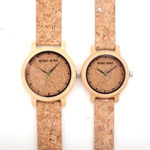 Image 4 - BOBO VOGEL M12 Bambus Holz Quarzuhr Für Männer Und Frauen Armbanduhren Top Marke Luxus Mit Japan Bewegung Als Geschenk