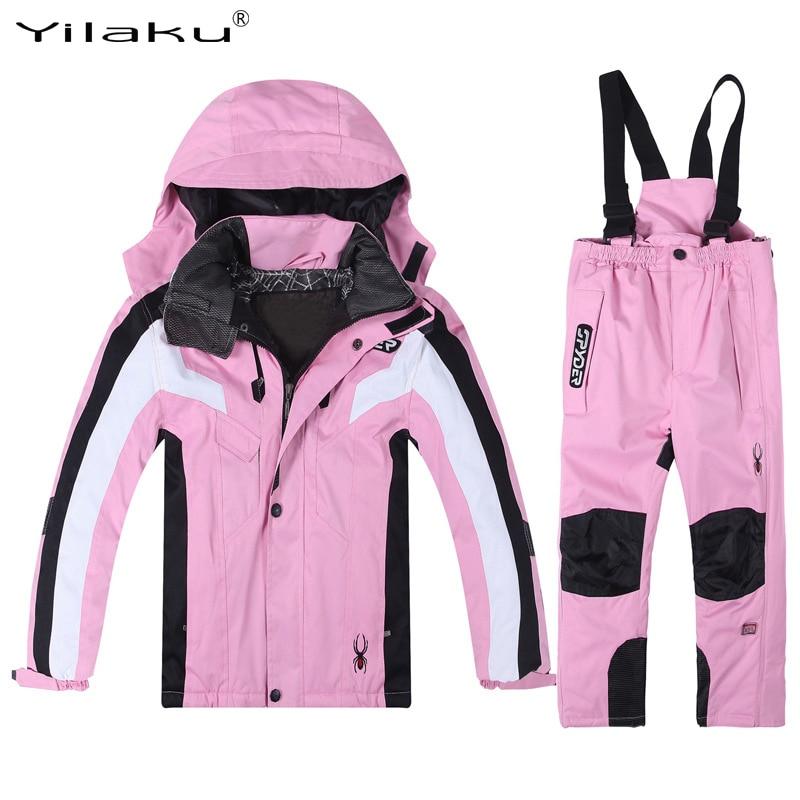 Yilaku hiver Ski vestes pour fille enfants canard vers le bas manteaux à capuche bambin garçons vêtements veste neige Sports filles vêtements CF503