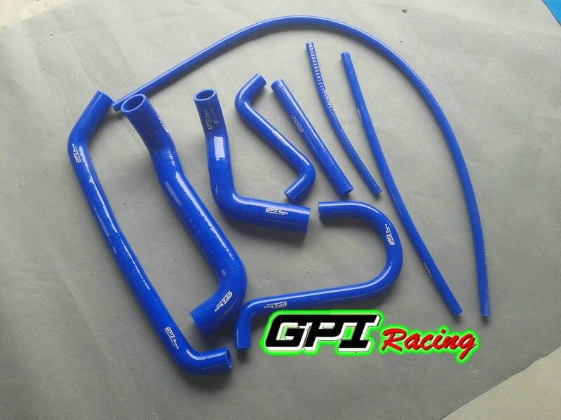 BLUE For FORD FALCON AU1 AU2 AU 1//2 4.0L 6 CYL 1998-2002 Silicone Radiator Hose