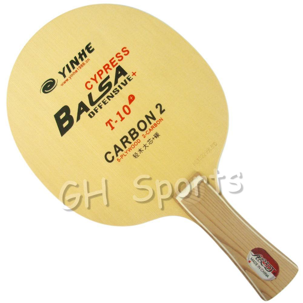 Galaxy voie lactée Yinhe Cypress Balsa T-10 + T 10 + T10 + OFF + lame de ping-pong pour raquette de ping-pong