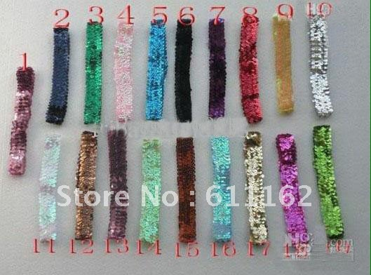 Горячая Распродажа разноцветных 150 шт 1 ''обруч с бантом b aby повязки для девочек стрейч застежка-молния