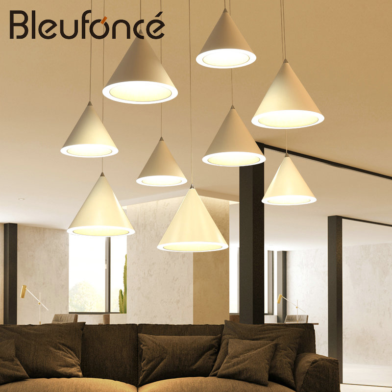 Restaurant Pendant Lights Modern Creative Fashion Bedroom Living Room Lights LED Decoration Lighting Aluminum Ceiling Lamp BL180 chinese style classical wooden sheepskin pendant light living room lights bedroom lamp restaurant lamp restaurant lights