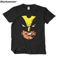 Warhammer 2017 Yaz Yeni XMen T-Shirt Homme Moda Stil Pamuk baskı O-Boyun Kısa Kollu X-men Fan AB Boyutu Rahat Erkekler T-shirt