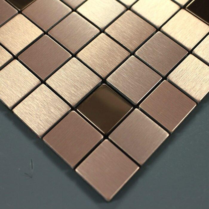Metallic mozaïek stickers brushed aluminium interieur wandpanelen metal sheet 9103 metalen keuken backsplash tegels vloer.jpg
