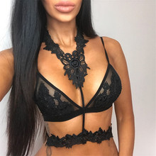 Strap Lace White Hollow out TopsTank Tops Women Sexy Bustier Female Strappy Bra Bralette Crop Vest Top camis Camisole pink