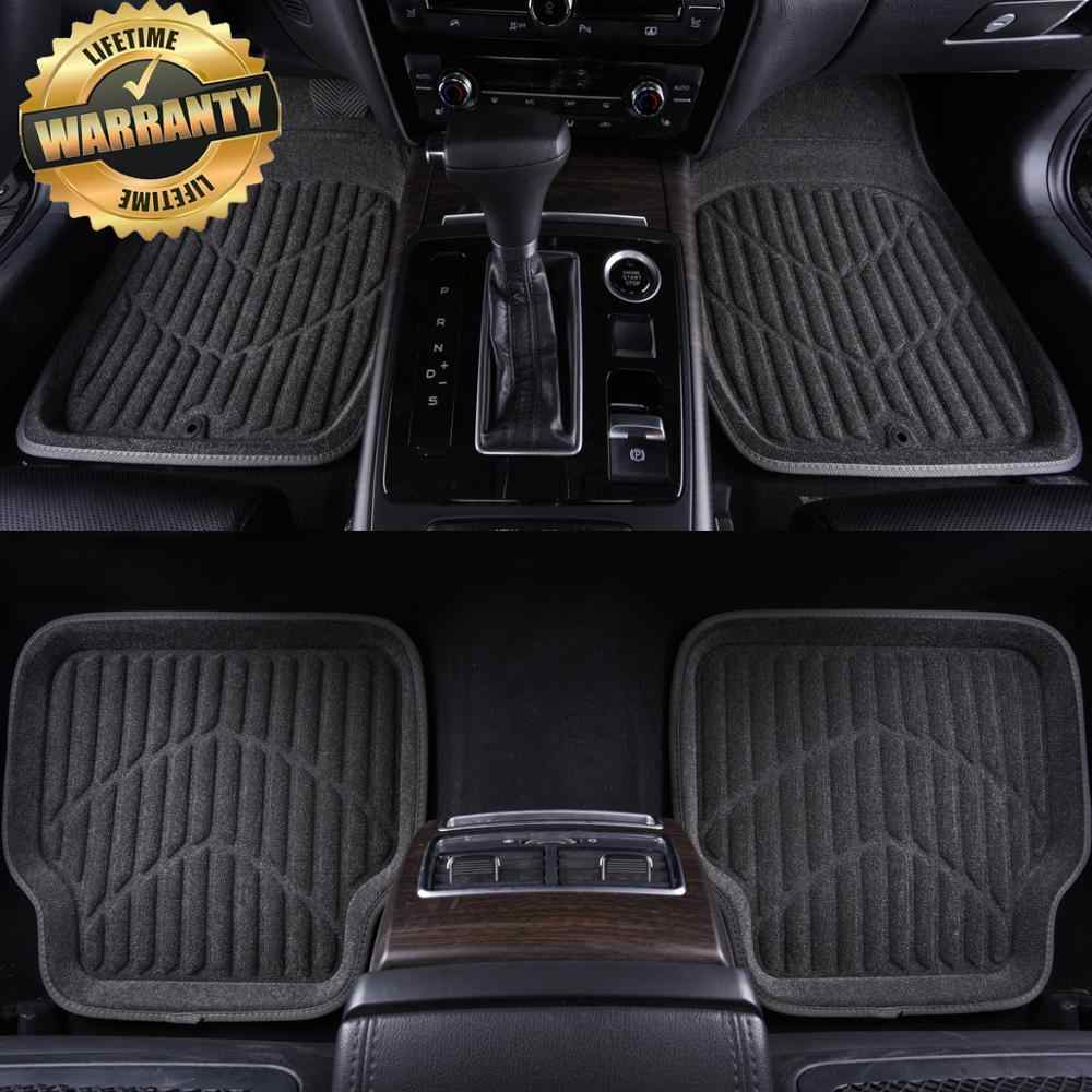car floor mats for Toyota All Models land cruiser prado camry rav4 corolla highlander yaris venza prius Alphard