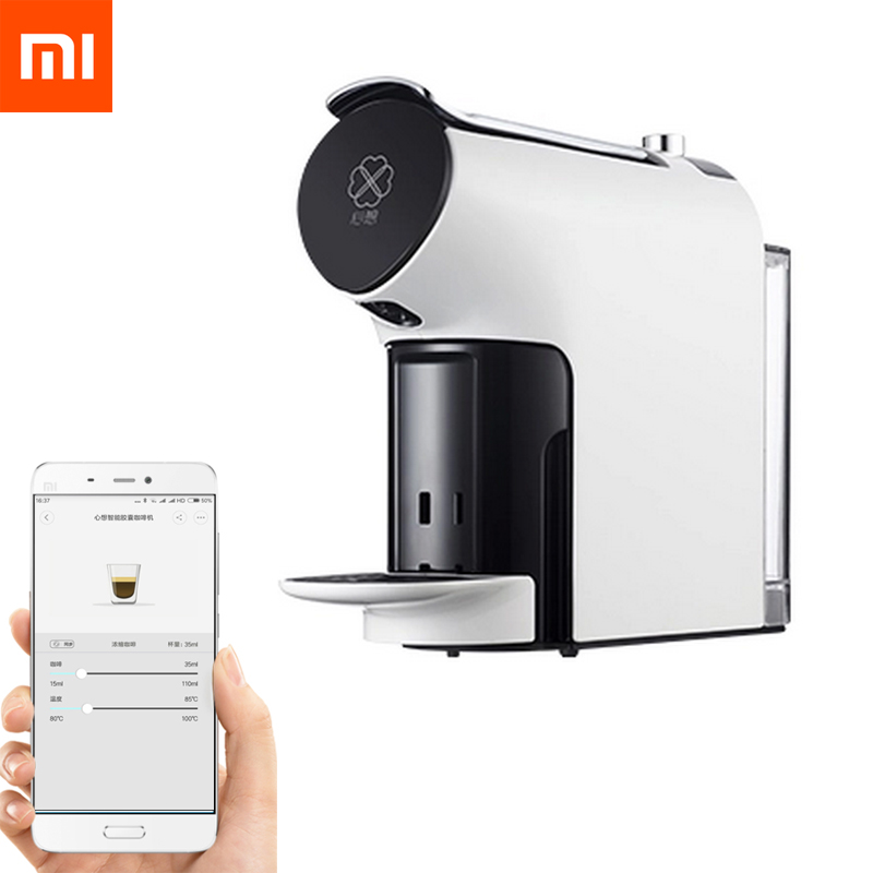 Upgraded Xiaomi SCISHARE Smart Coffee Machine 580ml APP Remote Control Concentration Capsule Compatible other Capsules