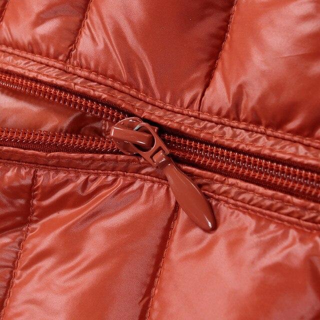 Long Waterproof Winter Coat With Bag