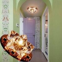 LAIMAIK AC90 260V 3W Crystal Led Ceiling Lights Aisle Living Room Balcony Lamp Modern Led Lighting