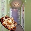 LAIMAIK AC90-260V 3 W Led De Cristal Do Teto Luzes Do Corredor Sala de estar Varanda Lâmpada Moderna Conduziu a Iluminação para Casa Decoração Luminária