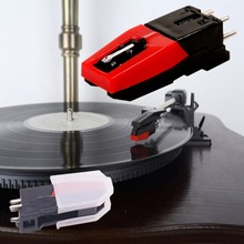 3 шт. граммофон звуковой разъем фонограф картридж стилус игла для проигрыватель пластинок граммофон Проигрыватель