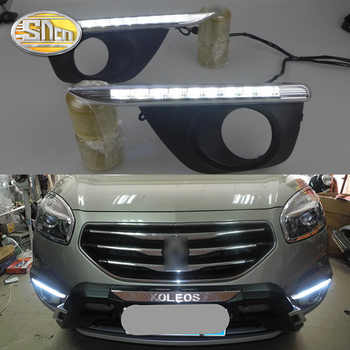 SNCN LED Daytime Running Light For Renault Koleos 2011 2012 2013 2014 Car Accessories Waterproof ABS 12V DRL Fog Lamp Decoration - DISCOUNT ITEM  50% OFF All Category