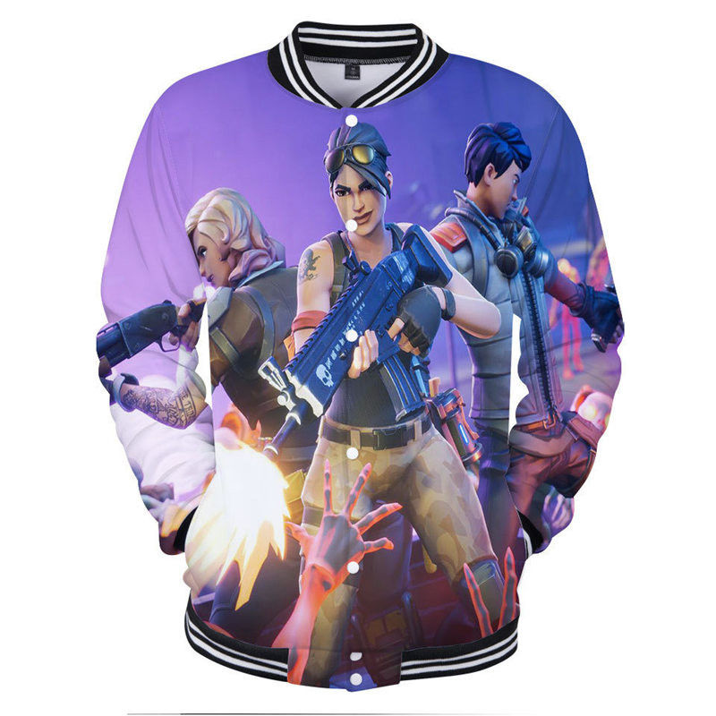 Men Sweater Christmas Costume 3D Printed Game Costumes Cosplay Teenagers Streetwear Fortnitedcostumes Game Cosplay Men Jacket