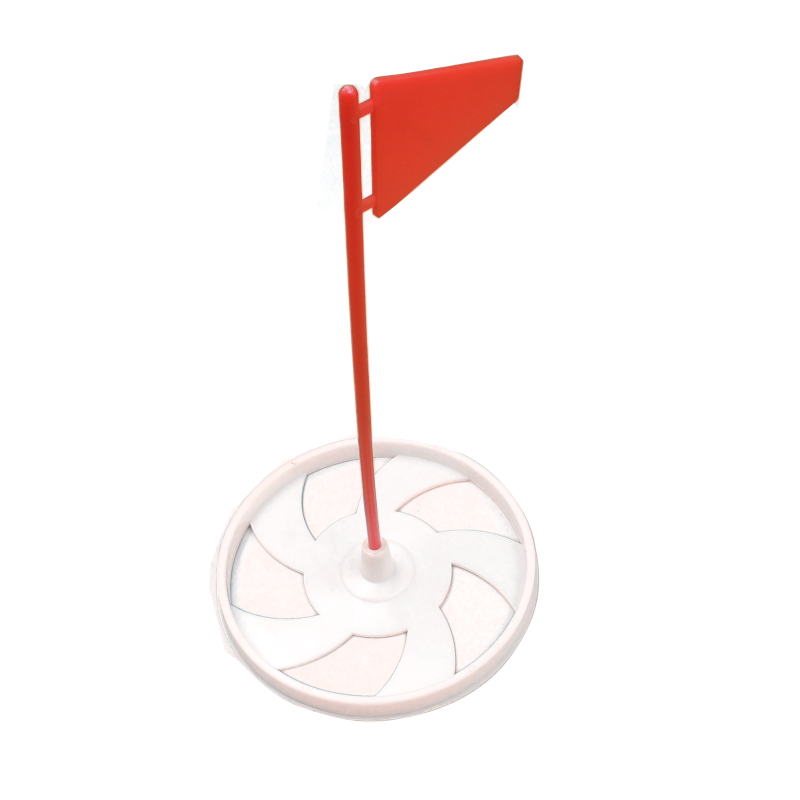 Plastic Golf Putting Green Cup With Flag Regulation Cup Hole Flag Indoor Practice