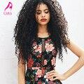 Афро-Американской Зажим В Выдвижениях Человеческих Волос 7А Бразильского Виргинские волос Странный Вьющиеся Клип В Наращивание Волос 7 Шт. 120 Г Клип Ins