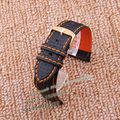 Carbon Fiber strap, Hide the underlying Watchbands orange line Band light soft straps 22mm male watch accessories