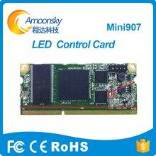 Preço do competidor linsn full color display led suporte 32 scan mini907 linsn pequeno led recebe o cartão