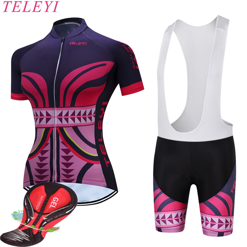 2017 New Style Ropa Ciclismo Cycling Jersey/Breathable Bicycle Cycling Clothing/Quick-Dry Bike Sportswear women