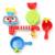 Nuevo 1 Unid Encantadores Niños Bañera Portátil Sistema de Rociadores de Agua de Juguete Niños Juguete de Regalo