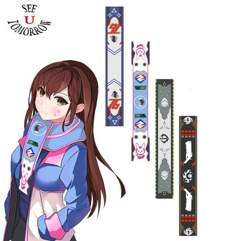 New OW Game Scarf D.Va, Genji ,Reaper ,SOLDIER:76 DVA Cosplay Costumes Scarf Halloween Christmas Gifts Scarves Size 160cm * 25cm