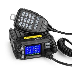 Image 2 - Распродажа! Qyt KT 8900D мини автомобилей Мобильный трансивер 25 Вт с Quad Band экран автомобиля двухстороннее радио Большой ЖК дисплей автомобильная рация для дальнобойщиков любительское радио