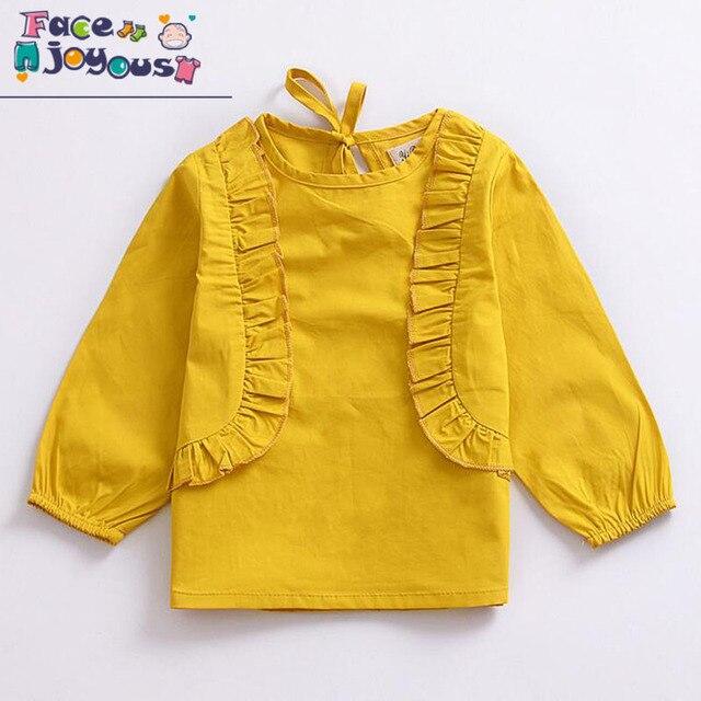 Aliexpress.com : Buy Baby Girl Clothes Autumn 100% Cotton Yellow ...